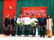 Vietnam gana primer oro en campeonato mundial de equipos de matemática