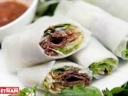 """Rollitos de pantorrilla de ternera, una """"sinfonía"""" de la dieta vietnamita"""