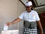 Indonesia organiza elecciones regionales