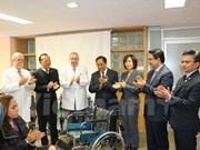 """Dona ASEAN sillas de rueda al Hospital Infantil de México """"Federico Gómez"""""""