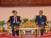 Presidente del Senado cambodiano afirma nexos de solidaridad con Vietnam