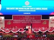 Comitiva vietnamita asiste a Asamblea General del partido gobernante de Malasia