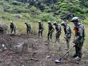 Vietnam y China cooperan en remoción de minas en zonas fronterizas