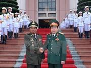 Firman Vietnam y Cambodia plan de cooperación en defensa