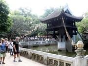Crece 14 por ciento afluencia de turistas extranjeros a Hanoi