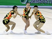 Logra Vietnam 10 medallas doradas en torneo asiático de aeróbic