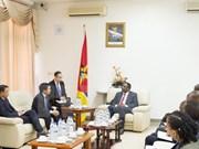 Vietnam y Mozambique enriquecen vínculos parlamentarios