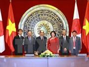Satisfacen a Vietnam y Japón desarrollo alcanzado de las relaciones bilaterales