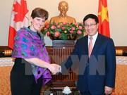 Considera Vietnam importantes relaciones integrales con Canadá