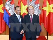Vietnam y Cambodia acuerdan mayor cooperación en foros interparlamentarios