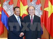 Concluye presidente de Senado cambodiano visita a Vietnam