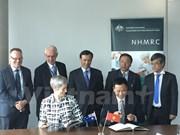 Australia brinda asistencia financiera a estudios médicos con Vietnam