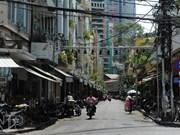 Calle de antigüedades: matiz distintivo en Ciudad Ho Chi Minh
