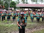 Gobierno filipino hace tregua durante 12 días con grupo insurgente