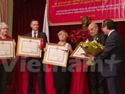 Periodistas rusos galardonados con medallas de amistad de Vietnam