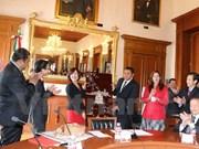 Celebran convenio de hermandad entre ciudades de Vietnam y México