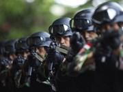 Indonesia aplasta intento de ataque terrorista en Nuevo Año