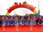 Inauguran nuevo puente que une Hanoi y provincia norteña de Phu Tho