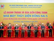 Vinacomin inaugura planta hidroeléctrica en Dong Nai