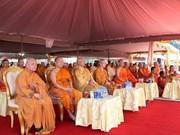 Laos efectúa acto de cremación al líder de Organización de Sangha Budista