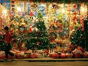 Atmosfera navideña calienta Hanoi
