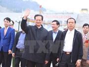 Celebran puesta en operación del generador 1 de Central Hidroeléctrica Lai Chau