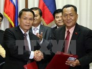 Agencias vietnamitas y laosianas de noticias fortalecen cooperación