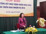 Apunta Vietnam remontar crecimiento crediticio a 20 por ciento en 2016
