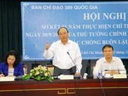 Vietnam energiza combate contra contrabando de cigarrillos