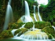 Belleza salvaje de cascada Dai Yem en Moc Chau