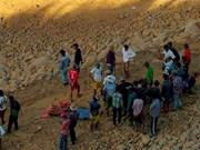 Decenas de desaparecidos en deslizamiento en mina de esmeralda en Myanmar