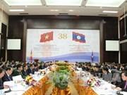 Vietnam y Laos trazan ruta para cooperación binacional en próximo lustro