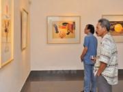 Inauguran exposición artística Vietnam - Malasia - Tailandia
