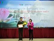 Premiación de concurso sobre relaciones Vietnam – Cuba