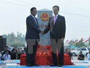 Vietnam y Cambodia determinan construir una frontera de paz y amistad