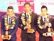 Publican lista de futbolistas más destacados de Vietnam en 2015