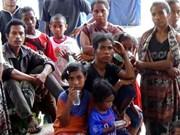 Indonesia: más de mil personas evacuadas tras erupción de volcán Egon