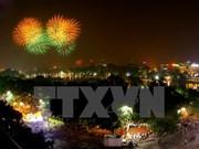 Fuegos artificiales iluminarán cielo de Hanoi en Nochevieja