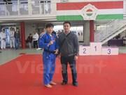 Bronce para atleta vietnamita en Copa de Judo de Hungría