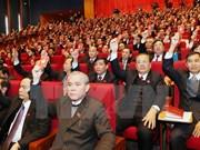 Delegados determinan en poner en práctica Resolución del XII Congreso del Partido
