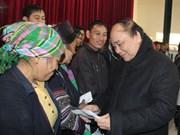 Vicepremier urge acelerar ayuda a damnificados por ola de frío en Lao Cai