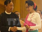 Nuevo parlamento de Myanmar inaugura su primera sesión
