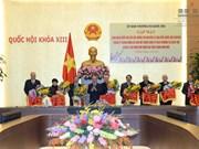 Dirigentes parlamentarios se reúnen con legisladores de distintas etapas