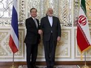 Viceprimer ministro de Tailandia visita Irán para intensificar la cooperación