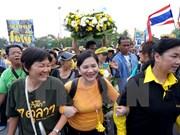 """Tailandia inicia proceso legal contra """"camisas amarillas"""" de protestas en 2008"""