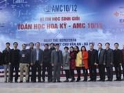 Estudiantes vietnamitas compiten en concurso de matemática de EE.UU.
