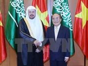 Alto funcionario de Arabia Saudita concluye visita a Vietnam
