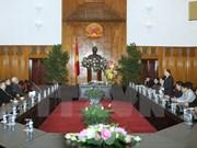 Vicepremier vietnamita felicita a comunidades religiosas en ocasión del Tet