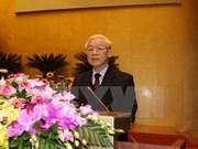 Más mensajes de felicitaciones enviadas al reelecto líder partidista de Vietnam
