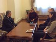 Demandan respuesta sobre cacheo en zona de residencia de vietnamitas en Ucrania